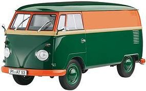Revell-Germany Volkswagen T1 Transporter Kastenwagen Plastic Model Vehicle Kit 1/24 Scale #07076