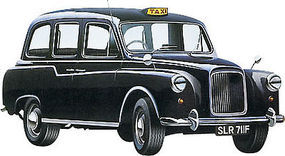 Revell-Germany London Taxi Plastic Model Car Kit 1/24 Scale #07093