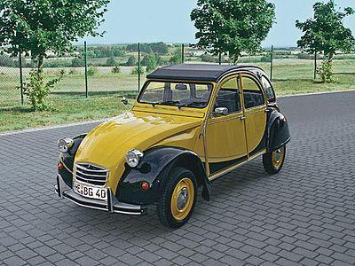 revell germany citroen 2cv charleston plastic model car. Black Bedroom Furniture Sets. Home Design Ideas