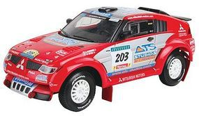 Revell-Germany Mitsubishi Pajero Evolution Snap Tite Plastic Model Vehicle Kit 1/32 Scale #07133