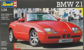 Revell-Germany 1989 BMW Z1 Plastic Model Car Kit 1/24 Scale #07361