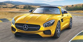 Revell-Germany Mercedes AMG GT Car Plastic Model Car Kit 1/24 Scale #7028