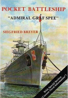 Schiffer Books Pocket Battleship Admiral Graf Spee -- Authentic Scale Model Boat Book -- #1830
