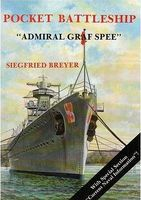 Schiffer Pocket Battleship Admiral Graf Spee Authentic Scale Model Boat Book #1830