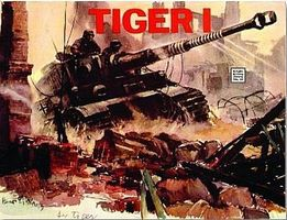 Schiffer Tiger I Authentic Scale Tank Vehicle Book #3521