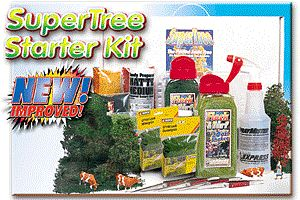 Scenic Express SuperTree(TM) Starter Kit -- Model Railroad Scenery Supplies -- #220