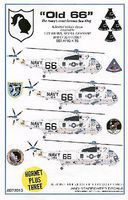 Starfighter Old 66 Apollo Moon Missions SH3 Sea King Helicopters for FJM, RVL & DML 1/72 #7201