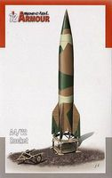 Special A4/V2 Ballistic Missile Plastic Model Military Vehicle Kit 1/72 Scale #172003