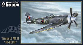 Special Hawker Tempest Mk II Fighter Plastic Model Airplane Kit 1/32 Scale #32054