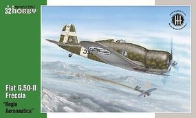 Special Fiat G50II Freccia Regia Aeronautica WWII Fighter Plastic Model Airplane Kit 1/32 #32061