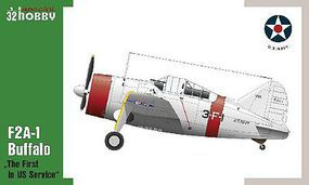 Special F2A1 Buffalo Fighter The First in US Service Plastic Model Airplane Kit 1/32 Scale #32064
