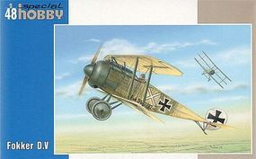 Special Fokker D V BiPlane Plastic Model Airplane Kit 1/48 Scale #48118