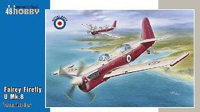 Special Fairey Firefly U Mk 8 Drone Version Aircraft Plastic Model Airplane Kit 1/48 Scale #48166