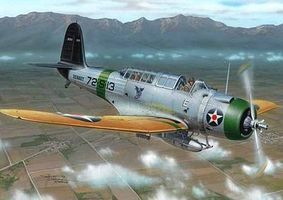 Special SB2U2 Vindicator Aircraft Plastic Model Airplane Kit 1/72 Scale #72257