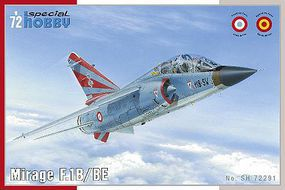 Special Mirage F1B/BE French Fighter Plastic Model Airplane Kit 1/72 Scale #72291