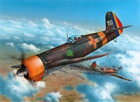 Special WWII IAR80A Romanian Fighter Plastic Model Airplane Kit 1/32 Scale #8002