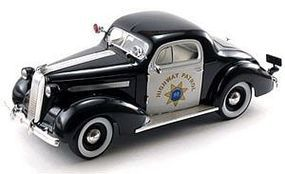 Sig 1936 Highway Patrol Pontiac Deluxe Police Car (Re-Issue) Diecast Model 1/18 #18140