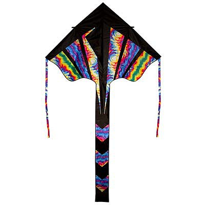 Skydog Kites 72'' Tie Dye Best Flier -- Single Line Kite -- #11142