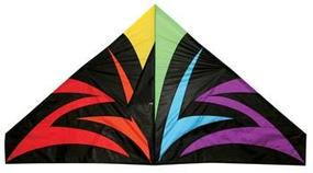 Skydog Black Lightning Delta 55 Single-Line Kite #11155