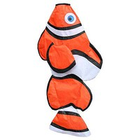 Skydog 36 Clown Fish Windsock Single Line Kite #42715