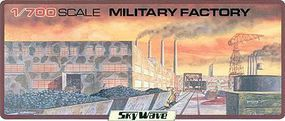 Skywave Military Factory Building (D) Plastic Model Military Diorama Kit 1/700 Scale #24