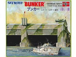 Skywave WWII German U-Boat Bunker (D) Plastic Model Military Diorama Kit 1/700 Scale #5