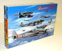 Skywave WWII German Aircraft Set #2 Plastic Model Airplane Kit 1/700 Scale #s19