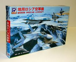 Skywave Modern Russian Aircraft Set #1 Plastic Model Airplane Kit 1/700 Scale #20