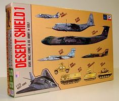 Skywave Desert Shield USAF, MAC, USMC & US Army in the Gulf Plastic Model Airplane Kit 1/700 #s6