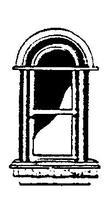 Scale-Structures HO Curved Arched Short 3-Lite Window (Metal Casting) (3)