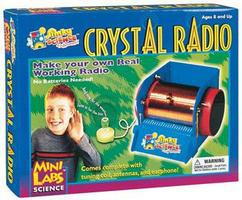 Slinky MiniLab Crystal Radio Kit
