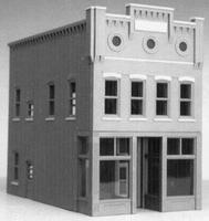 Smalltown Mikes Market Kit HO Scale Model Railroad Building #6001