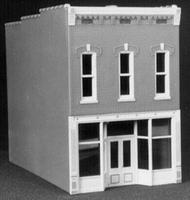 Smalltown Vivians Family Shoe Store City Building Kit HO Scale Model Railroad Building #6013