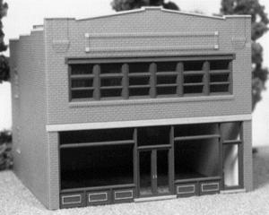 Smalltown U.S.A. Florist's Office City Building Kit -- HO Scale Model Railroad Building -- #6016