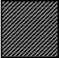 Scale-Motor Comp. Carbon Fiber Decal Twill Weave Black on Silver Plastic Model Vehicle Decal 1/20 #1020