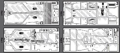 Scale Motorsports Ferrari 312T Photo-Etch Detail Set For TAM -- Plastic Model Vehicle Accessory -- 1/12 -- #8070
