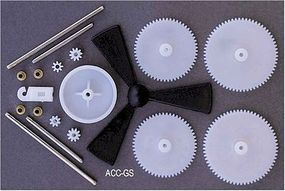 Solar Motor Gears, Shafts & Propeller (Bagged)