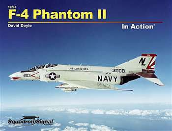 Squadron/Signal Publications F-4 Phantom in Action -- Authentic Scale Model Airplane Book -- #10237