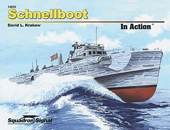 Squadron/Signal Publications Schnellboot In Action -- Authentic Scale Model Boat Book -- #14035