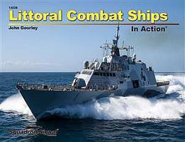 Squadron Littoral Combat Ships In Action Authentic Scale Model Ship Book #14036