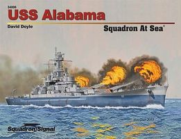 Squadron USS Alabama Squadron at Sea Authentic Scale Model Boat Book #34006