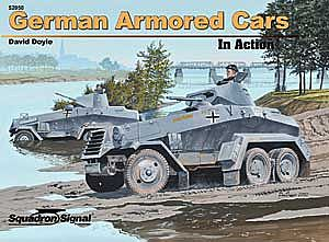 Squadron/Signal Publications GERMAN ARMORED CARS in Action