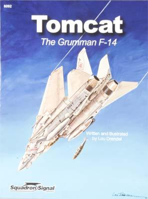 Squadron/Signal Publications Tomcat -- Authentic Scale Model Airplane Book -- #6092