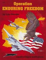 Squadron Operation Enduring Freedom Authentic Scale Model Airplane Book #6123