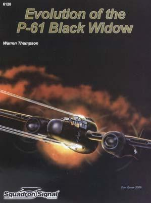 Squadron/Signal Publications P-61 Black Widow Special -- Authentic Scale Model Airplane Book -- #6126