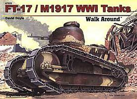 Squadron FT-17/M1917 WW-I TANKS WalkA H