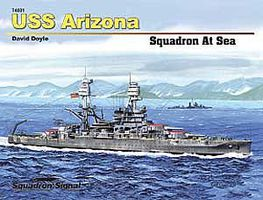 Squadron USS ARIZONA Hardcover