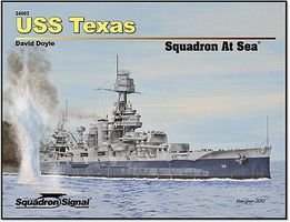 Squadron USS TEXAS Sqdn at Sea HC