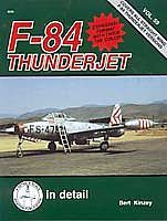 Squadron D&S F-84 Thunderjet Authentic Scale Model Airplane Book #8259