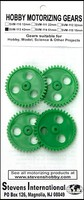 Stevens-Motors Plastic Gears 42mm x 6mm 40-teeth (3mm ID) (4)